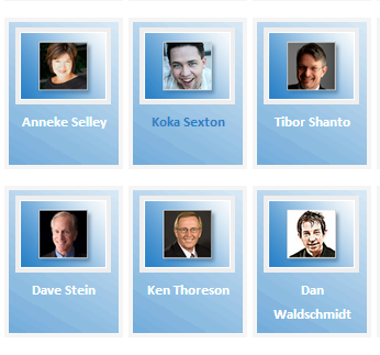 Top Sales   Marketing Influencers — 2012