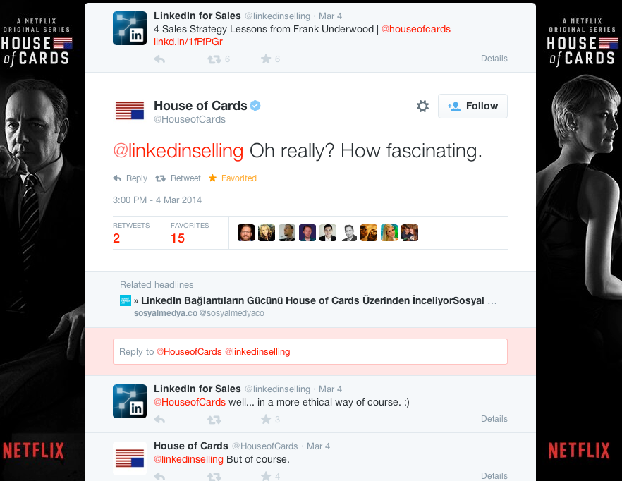 Twitter___HouseofCards___linkedinselling_Oh_really_____