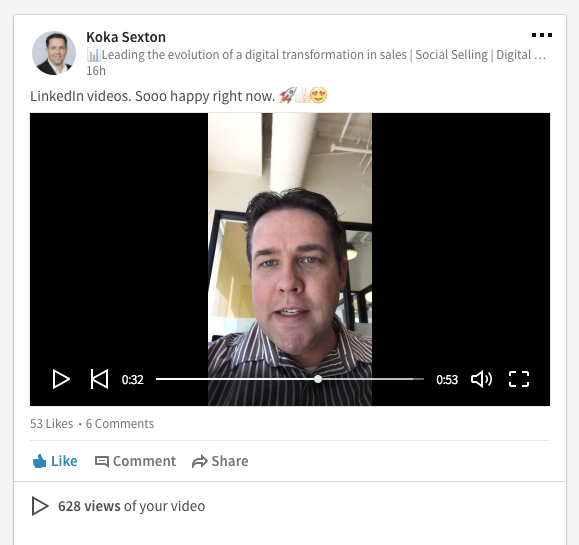 LinkedIn video stories first look