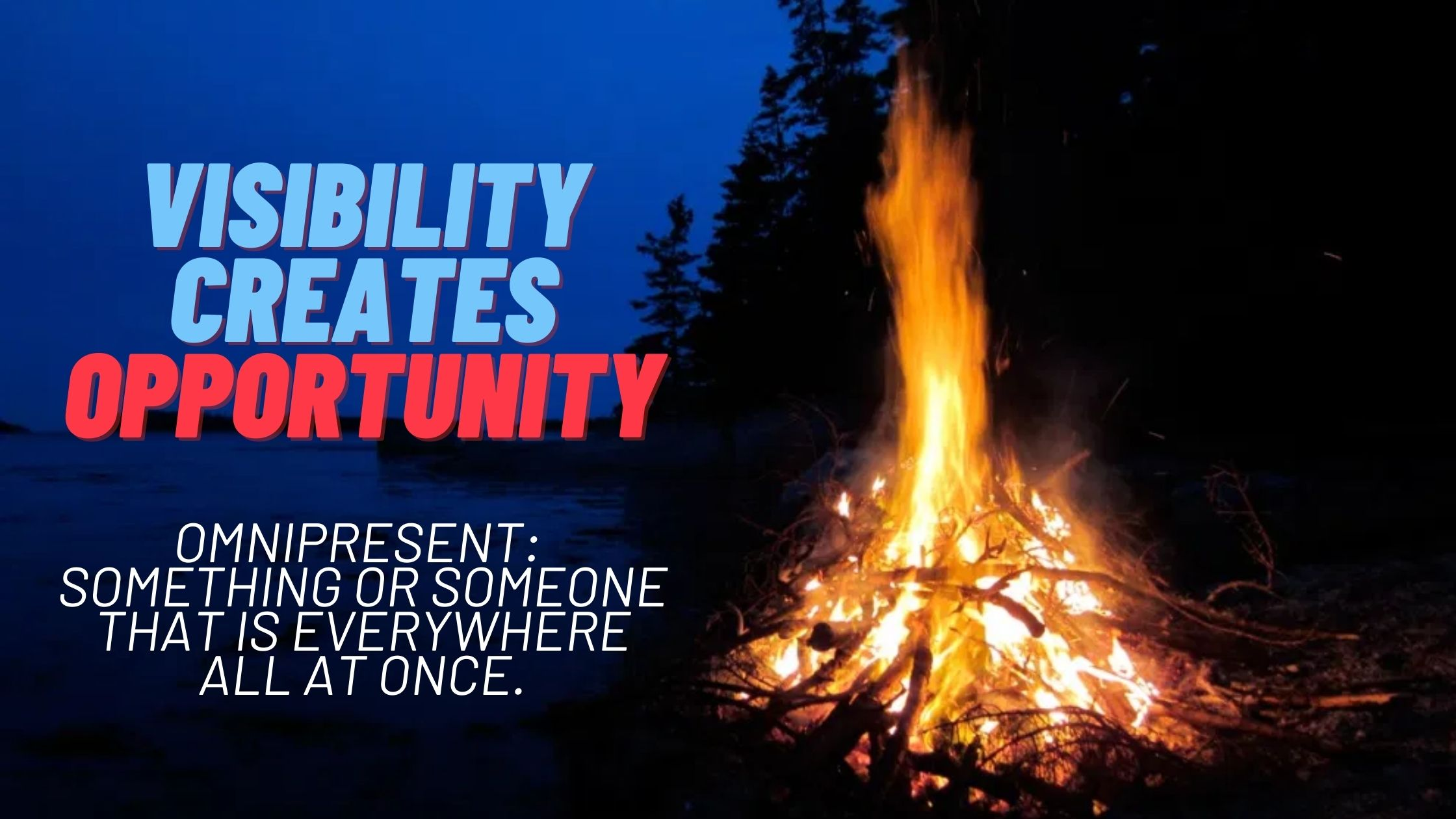 visibility creates opportunity personal branding